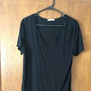 Zara basics black tee size M- Super soft material